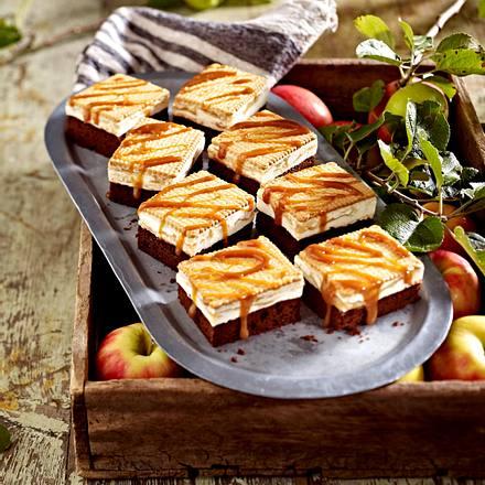 Apfel-Brownies Rezept