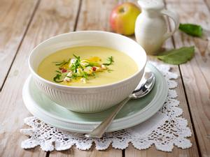 Apfel-Curry-Suppe Rezept