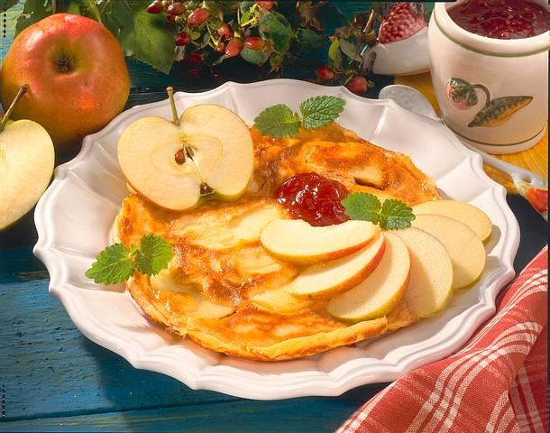 Apfel-Eierkuchen Rezept