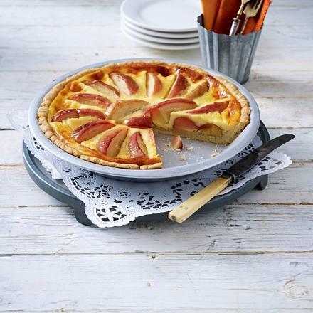 Apfel-Eierlikör-Tarte Rezept