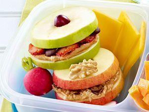 Apfel-Erdnussbutter Rezept