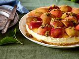 Apfel-Frischkäse-Kuchen Rezept