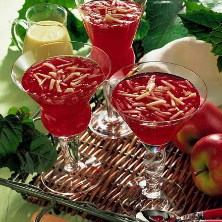 Apfel-Götterspeise Rezept