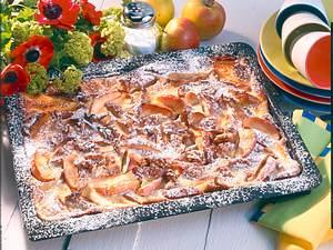 Apfel-Hefekuchen Rezept