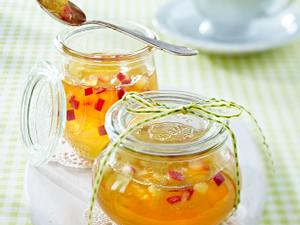 Apfel-Holunderblüten-Gelee mit Prosecco Rezept