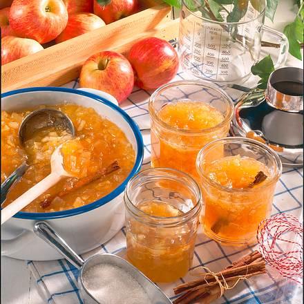 Apfel- Honig-Konfitüre Rezept