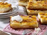 Apfel-Käse-Blechkuchen Rezept