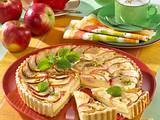 Apfel-Käse-Tarte Rezept