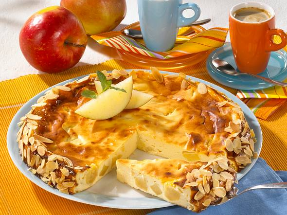 Apfel-Käsekuchen (Diabetiker) Rezept