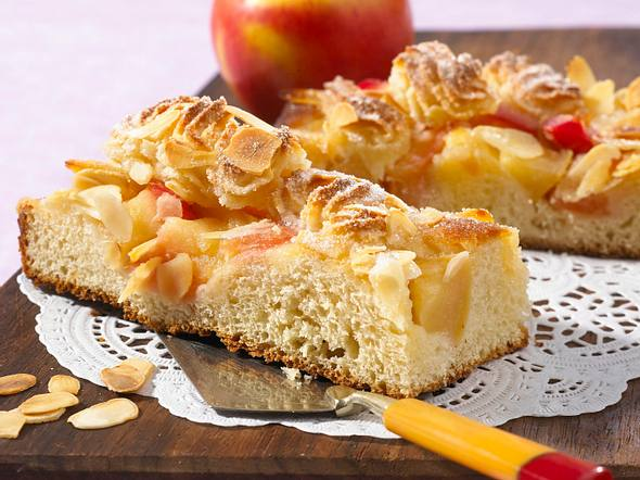 Apfel-Makronen-Kuchen Rezept
