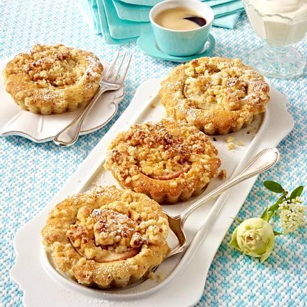Apfel-Mandel-Küchlein mit Marzipankruste Rezept