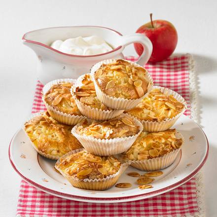 Apfel-Mandel-Muffins (Diabetiker) Rezept