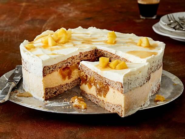Apfel-Mandel-Torte mit Ahornsirup Rezept