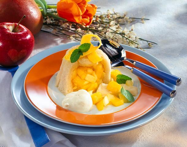 Apfel-Mango-Törtchen Rezept