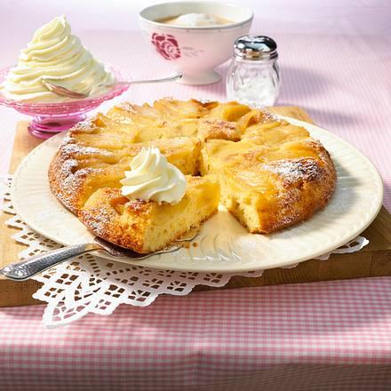 Apfel Marzipan Kuchen Rezept Lecker