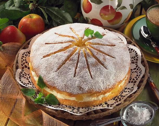 Apfel-Mascarpone-Torte Rezept