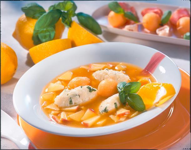 Apfel-Melonen-Suppe Rezept