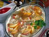 Apfel-Milchreis mit Himbeersoße Rezept