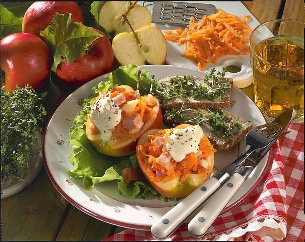 Apfel-Möhren-Salat Rezept