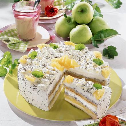 Apfel-Mohn-Torte Rezept