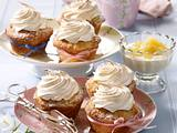 Apfel-Muffins mit Baiserhaube Rezept