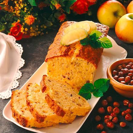 Apfel-Nuss-Rührkuchen Rezept