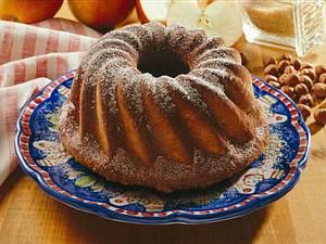 Apfel-Nusskuchen Rezept