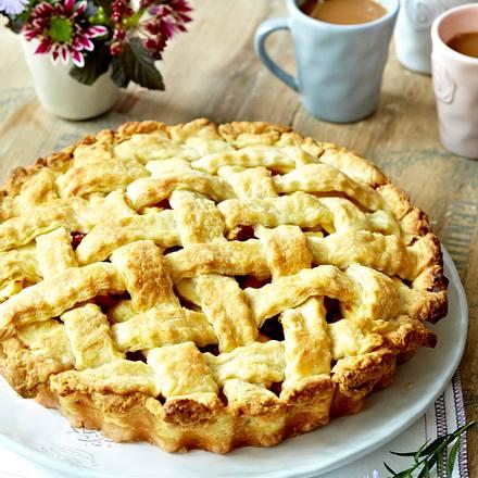 Apfel-Pflaumen-Pie Rezept