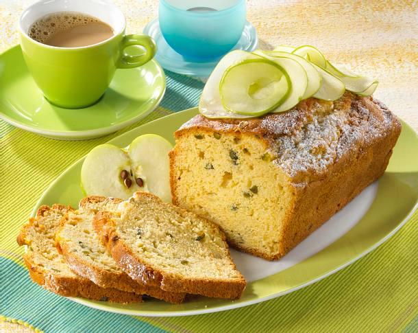 Apfel-Pistazienkuchen Rezept
