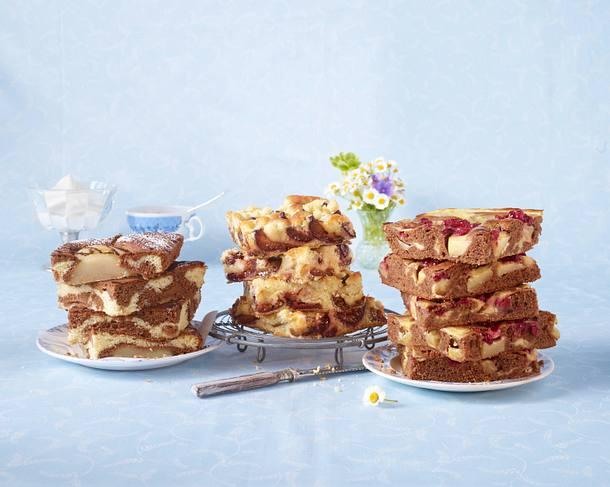 Apfel-Preiselbeer-Kuchen Rezept