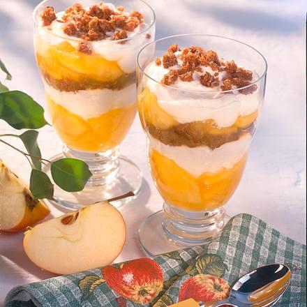 Apfel-Quark-Becher Rezept