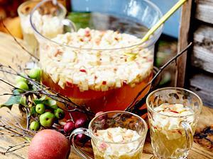 Apfel-Quitten-Bowle Rezept