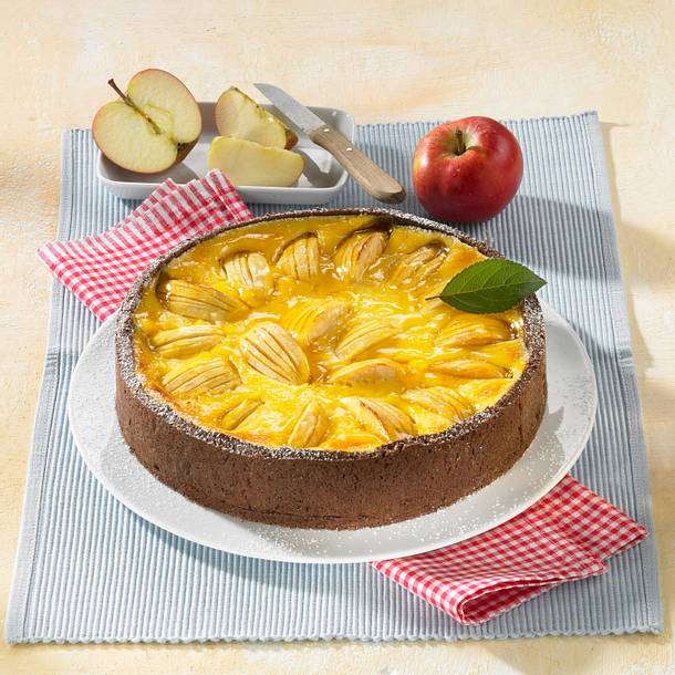Apfel-Rahm-Kuchen Rezept
