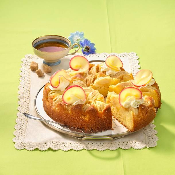 Apfel-Ricottakuchen Rezept
