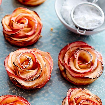 Apfel-Rosen Rezept