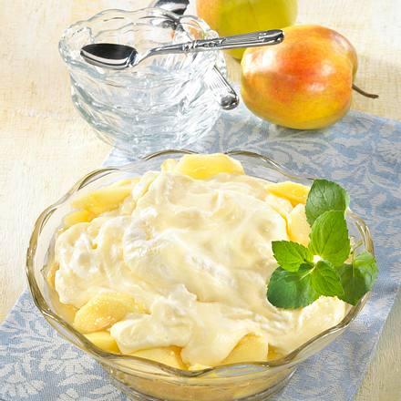 Apfel-Sahne-Pudding Rezept