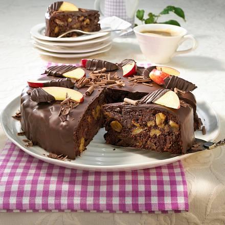 Apfel-Schoko-Torte Rezept