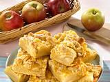 Apfel-Streusel-Kuchen mit Zitronenguss Rezept