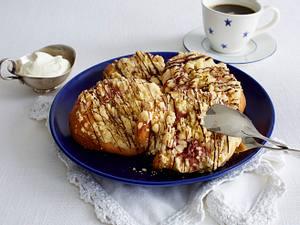 Apfel-Trauben-Streuselteilchen mit Vanille Rezept