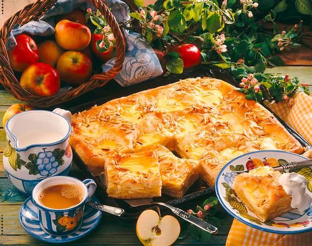 Apfel-Vanillekuchen Rezept