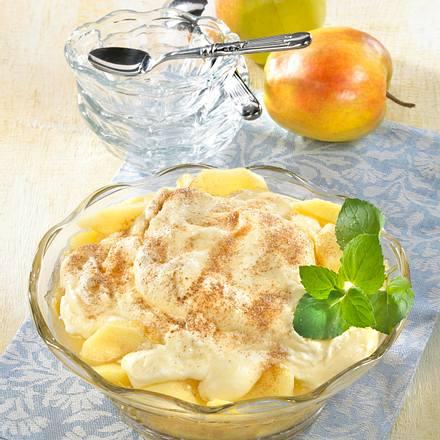 Apfel-Vanillesahne-Schichtspeise Rezept