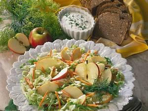 Apfel-Weißkohlsalat Rezept