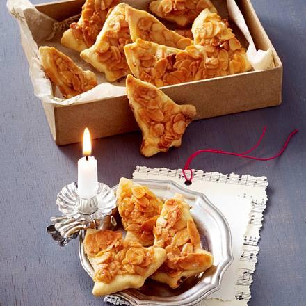 Apfel-Zimt-Glöckchen mit Mandelblättchen-Karamell Rezept