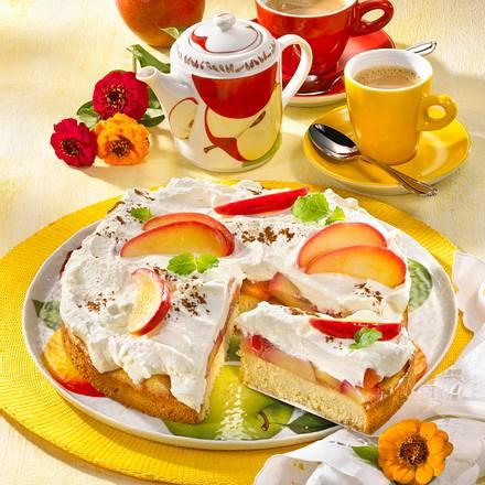Apfel-Zimt-Torte (Diabetiker) Rezept