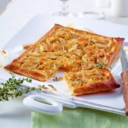 Apfel-Zwiebel-Tarte Rezept