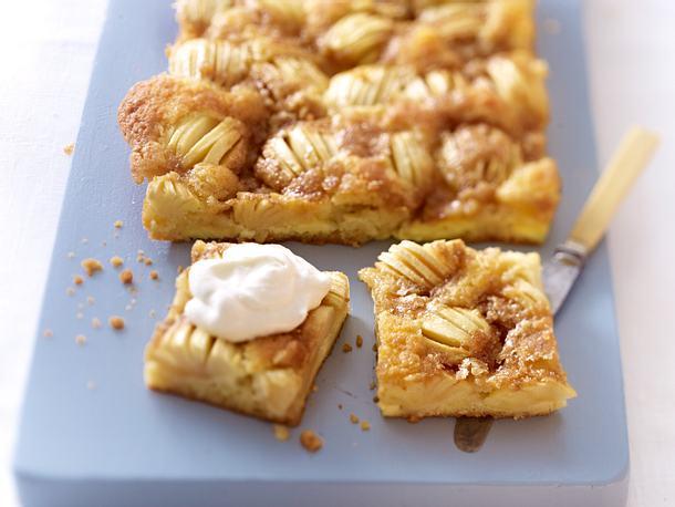Apfelkuchen mit Butter-Zucker-Kruste Rezept