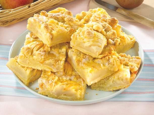 Apfelkuchen mit Butterstreuseln Rezept