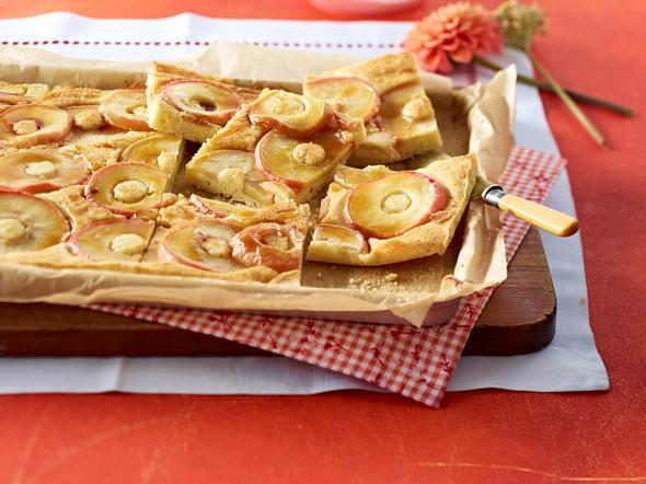 Apfelkuchen mit Karamell Rezept