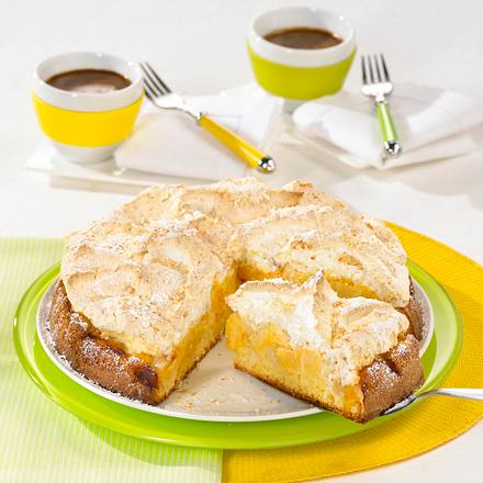 Apfelkuchen mit Kokosbaiser Rezept