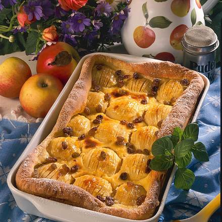 Apfelkuchen mit Schmandguss Rezept